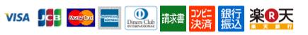 VISA MasterCard JCB American Express Dinaers Club International
